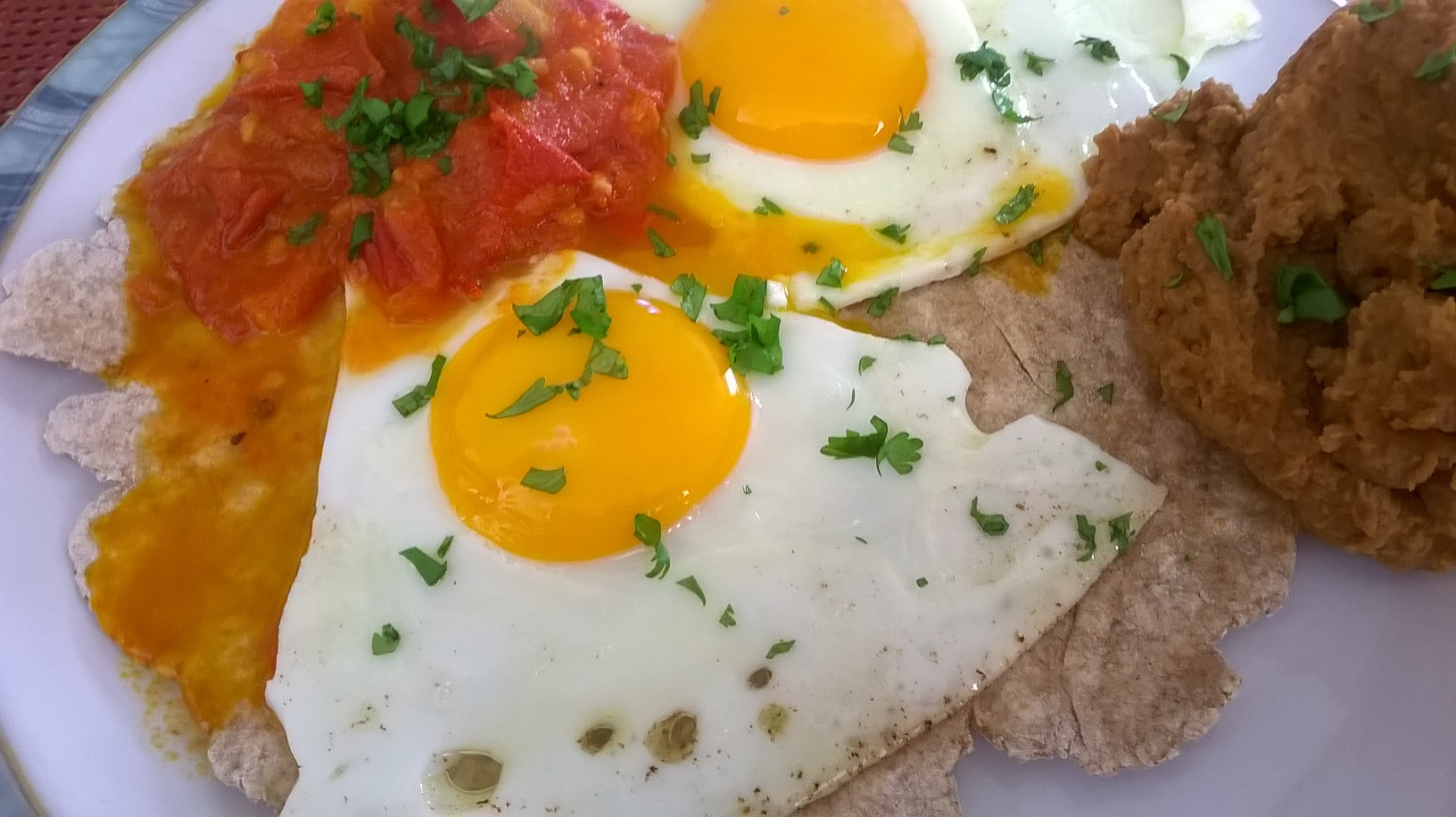 Cheats Huevos Rancheros